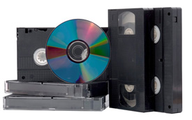 VHS to DVD and VHS to Digital Media Transfer Services
